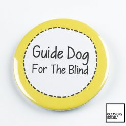 Guide Dog For The Blind Pin Badge