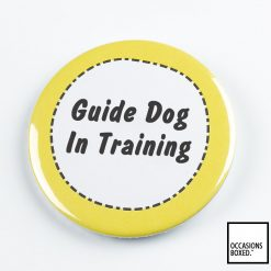 Guide Dog In Training Pin Badge