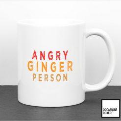 Angry Ginger Person Mug