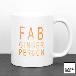 Fab Ginger Person Mug