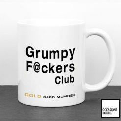 Grumpy Fucker Club Gold Card Member Mug