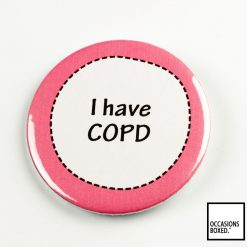 I Have COPD Pin Badge