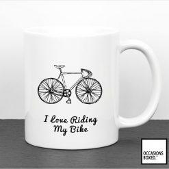 I Love Riding My Bike Mug