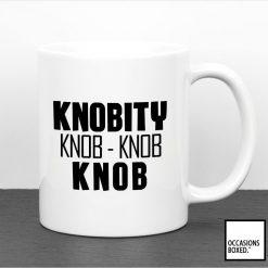 Knobity Knob Knob Knob Mug