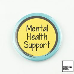 Mental Health Support Pin Badge