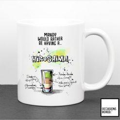 Personalised Hiroshima Cocktail Mug