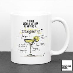 Personalised Margarita Cocktail Mug