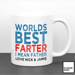 Personalised Worlds Best Farter I Mean Father Mug