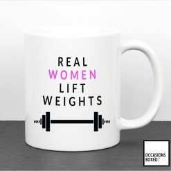 Real Women Lift Weights Mug