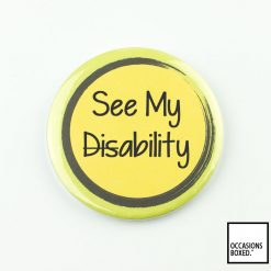 See My Ability Pin Badge For Disabilities