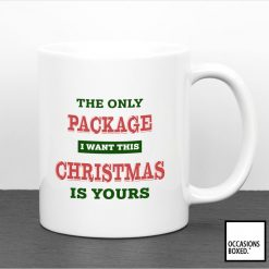 The Only Package I Want This Christmas Is Yours Mug
