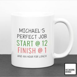 The Perfect Job Personalised Mug