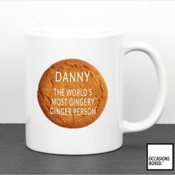 The Worlds Most Gingery Ginger Person Mug