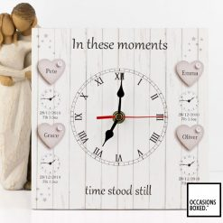 4 Children In These Moments Time Stood Still Family Clock