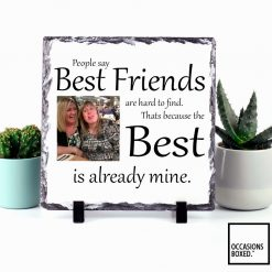 Best Friends Are Hard To Find Photo Slate