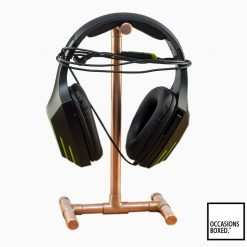 Copper Pipe Headphone Phone Stand