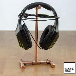 Copper Pipe Headphone Phone Stand