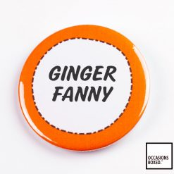 Ginger Fanny Pin Badge