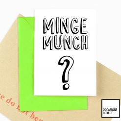 Minge Munch? Adult Card