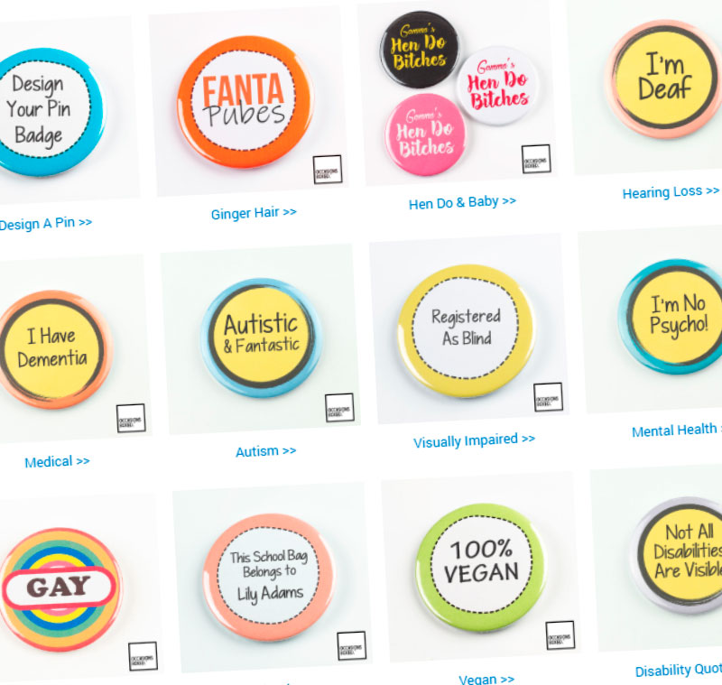 Pin Badge Shop