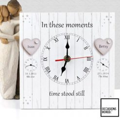 The Original In These Moments Family Gift Clock