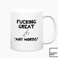 Fucking Great Personalised Mug