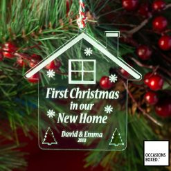 First Christmas In Our New Home Christmas Decoration