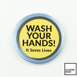 Wash Your Hands It Saves Lives Covid-19 Badge