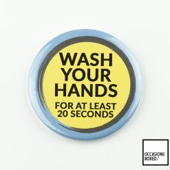 Wash Your Hands For At Least 20 Seconds Covid-19 Badge