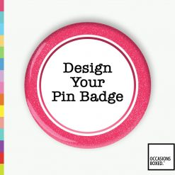 Press Button Design A Pin Badge