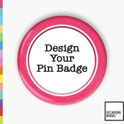 Press Button Design A Pin Badge