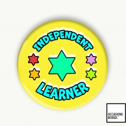 Independent Learner Award School Pin Badge