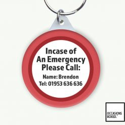 In Case Of An Emergency Please Call Keyring