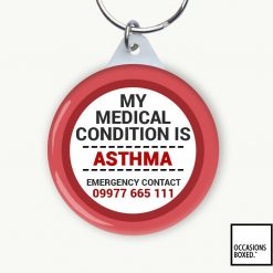 My Medical Condition Is Information Keyring